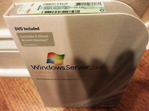 Microsoft Windows Server 2008 R2 Standard,SKU P73-04754,64-Bit,Full Retail,5 CAL