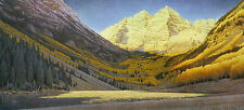 """Rocky Mountain Gold"" Scott Kennedy Western Fine Art Print"