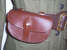 Ww1 Webley Officers Revolver Ammo Pouch - Leather Repro