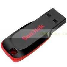 SanDisk 64GB USB Flash Drive Cruzer Blade 32G Nuevos Garantía de por vida ct ES