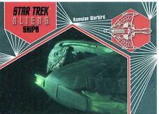 Star Trek Aliens Chase Alien Ships S05 Romulan Warbird