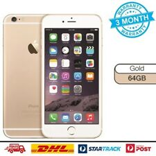 AS NEW Apple iPhone 6 64GB Gold Smartphone 100% Unlocked 4G GSM LTE Mobile Phone