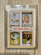 HANK AARON SPECIAL CARD SET 1954-1973