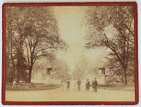 Tolosa A Jardin Vintage Albumina Ca 1880