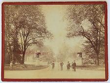 Toulouse Au jardin Vintage albumine ca 1880