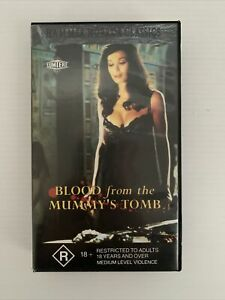 Blood from the Mummy's Tomb VHS 1971 Horror Polygram Video 1993 Version