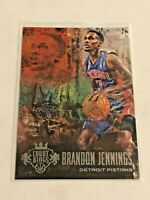 2013-14 Court Kings Basketball Base Card - Brandon Jennings - Detroit Pistons