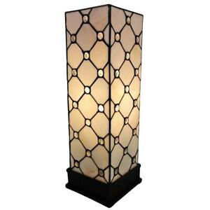 18 in. Tiffany Style Jeweled Table Lamp by Amora Lighting
