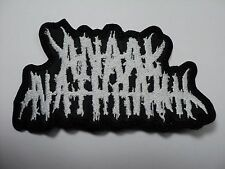 ANAAL NATHRAKH SHAPED LOGO EMBROIDERED PATCH