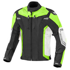 Berik Challenger Motorcycle Textile Motorbike Breathable Jacket Yellow/Black/Wht