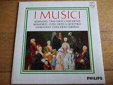 """I MUSICI - ALBINONI / BONPORTI / GEMINIANI 12"""" LP / RECORD - PHILIPS - SAL 3759"""