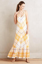 NWT Anthropologie Clementine Maxi Dress, by Holding Horses - mango, size S