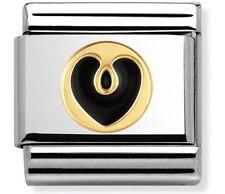 nomination charm Black Heart RRP £22