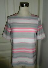 Best Buy - Zara Inspired Stripe Pink Top, Free Size