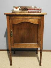 VINTAGE ART DECO FRENCH PROVINCIAL BEDSIDE LAMP SIDE TABLE CABINET CUPBOARD HALL