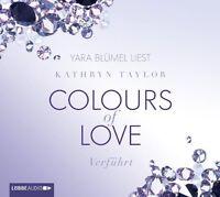 KATHRYN TAYLOR - COLOURS OF LOVE-VERFÜHRT 4 CD NEU