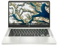 HP 14'' HD Chromebook Intel Dual-Core 2.6GHz 32GB eMMC 4GB RAM Mic BT Webcam