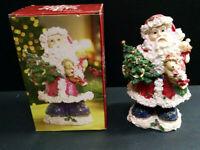 "Holiday By Kirkland's Santa Claus Christmas Figurine, Resin, 8"" Tall"