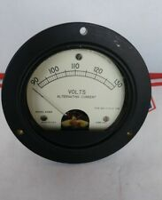 Panel Meter Model 47MR  Hickok Electric Instrument Co. 0-130. A.C. 3000VAC