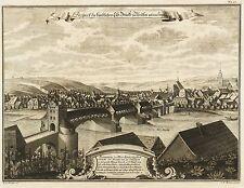 Meissen-Prospect artificiali ELB-ponte-Schramm-rame chiave 1735