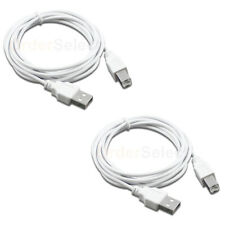 15FT USB2.0 A Male to B Male Printer Scanner Cable White U2A1-15WHT