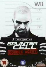 Tom Clancy's Splinter Cell Double Agent (Nintendo Wii, 2006) FREE SHIPPING