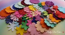 Felt Flower Large Mixed Bumper Pack (50) Mixed Colour Shape Craft Embellishments