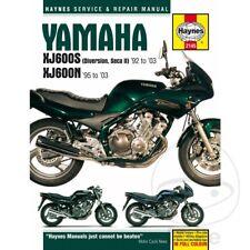 Yamaha XJ 600 SH Diversion 1997 Haynes Service Repair Manual 2145