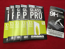 5 CLEAR LCD Temper Glass Screen Protector for ZTE ZMAX PRO Z981