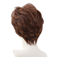 Synthetic Wigs For Women Pixie Cut Layered Short Full Wig Natural Straight