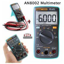 AN8002 RMS 6000 Multimètre Volt Testeur Voltmètre Ampèremètre Ohmmètre Numérique