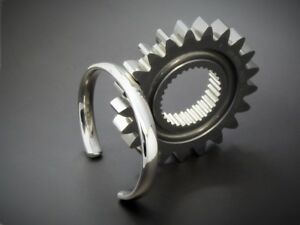 Men's Gents Heavy Open Solid 925 Sterling Silver Torque Bangle Bracelet HandMade