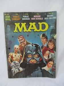 Vintage MAD Magazine # 196 Jan 1978 Star Wars