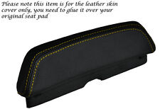 YELLOW STITCH CUSTOM FITS LAVERDA 650 668 BACKREST PAD LEATHER SEAT COVER