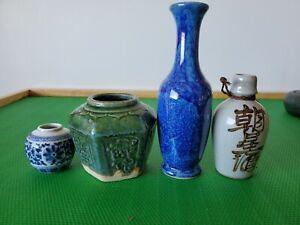 Antique Asian Porcelain Jars And Vases
