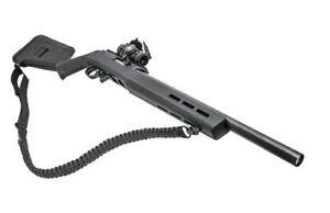 **FREE SHIPPING** Black Paracord Survival Sling For Shot Gun Rifle, 2 Swivels