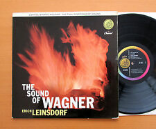 SP 8411 The Sound Of Wagner Erich Leinsdorf 1957 Capitol Stereo EXCELLENT