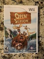 Nintendo Wii Open Season Videogame w/Manual & in Great Condition (Free Shipping)