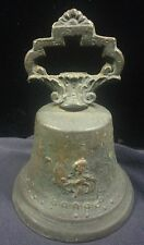 Antique Early 1800's 1810? Bronze Estate Mission Bell Mexican/Spanish