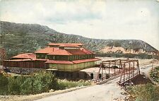 c1910 Postcard; Sanitarium & Steel Bridge, Ogden Canyon Ut Weber County Unposted