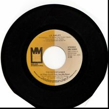 J.R. BAILEY ENTERTAINER/YOU PASS MY LOVE (LIKE A MOVING TRAIN)  USED 45RPM VINYL