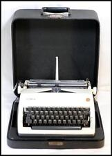 Vintage 1971 Olympia SM9 Manual Typewriter w/Case / Good Condition / Pre-Owned