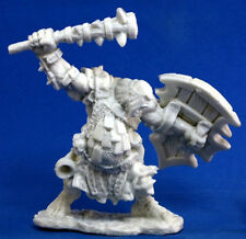 1 x KAGUNK CHEF OGRE - BONES REAPER figurine miniature jdr d&d chieftain 771105