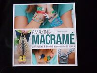 Amazing Macramé - 29 knotted & beaded accessories to make by Claire Rougeri