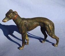 bronze Whippet Italian Greyhound Vienna Austria dog 4""