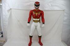 "POWER RANGERS HUGE GIANT 31"" Inch Megaforce Red Power Ranger Action Figure 2013"
