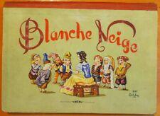 Pop-hop Blanche Neige par Gildas éditions Lucos Mulhouse 1957