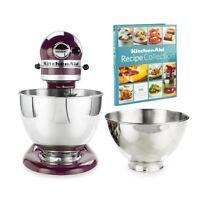 KitchenAid 4.5-Quart Tilt-Head Stand Mixer + 3-Quart Bowl | Boysenberry