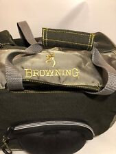 BROWNING Duffel Bag Green Hunting Fishing Sports Multi Storage