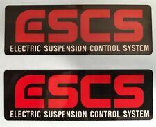 KAWASAKI GPX750R GPX600R GPZ400R GPX250R ESCS FORK CAUTION WARNING DECALS X 2